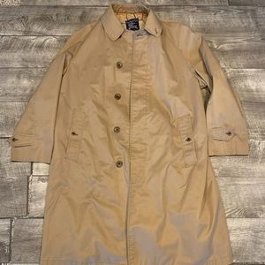 Burberrys Men's Trench Rain Coat Large